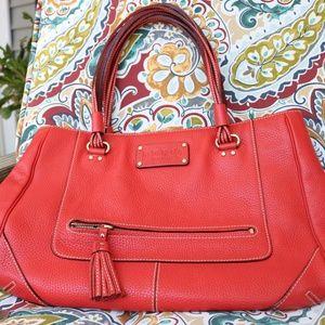 Kate Spade Red Leather Handbag